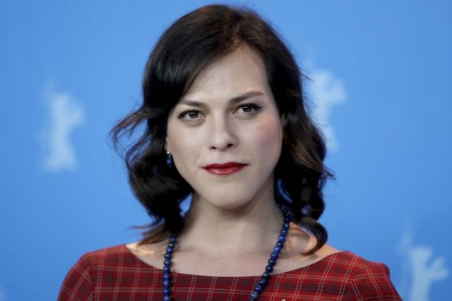 L'actrice transgenreDaniela Vega est à l'affiche du film... (AP, Michael Sohn)