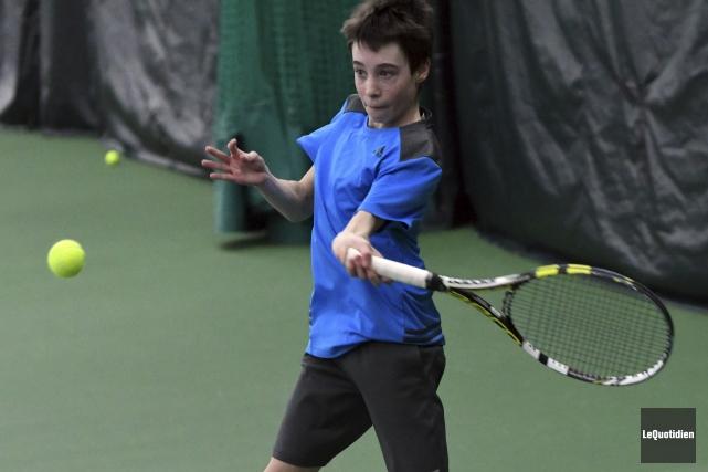 Le jeune Xavier Mareschal-Hay n'a pu se qualifier... (Photo Le Quotidien, Michel Tremblay)