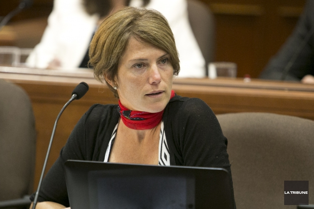 Christine Ouellet... (Archives La Tribune, René Marquis)