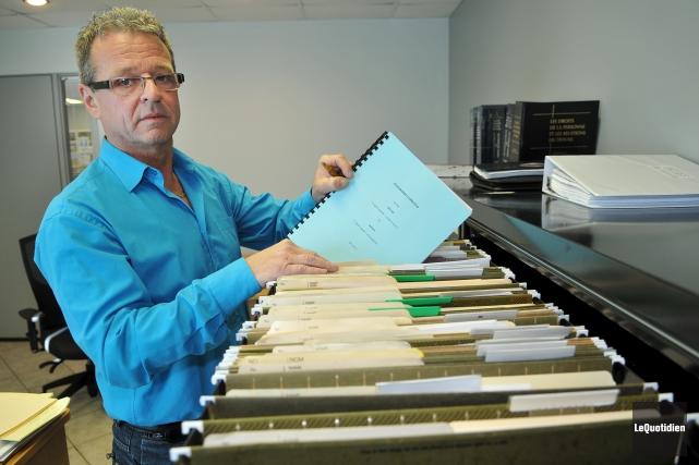 Le représentant national d'Unifor, Carl Dallaire, affirme que... (Archives Le Quotidien, Rocket lavoie)