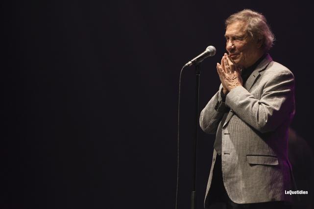 Jean-Pierre Ferland... (Photo Le Quotidien, Michel Tremblay)