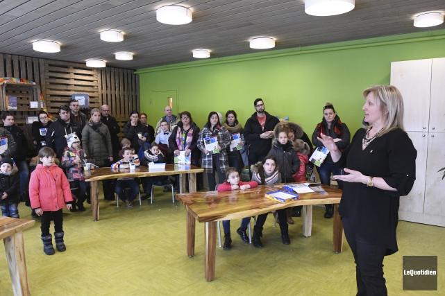 La directrice générale de la Commission scolaire des... (Photo Le Quotidien, Michel Tremblay)