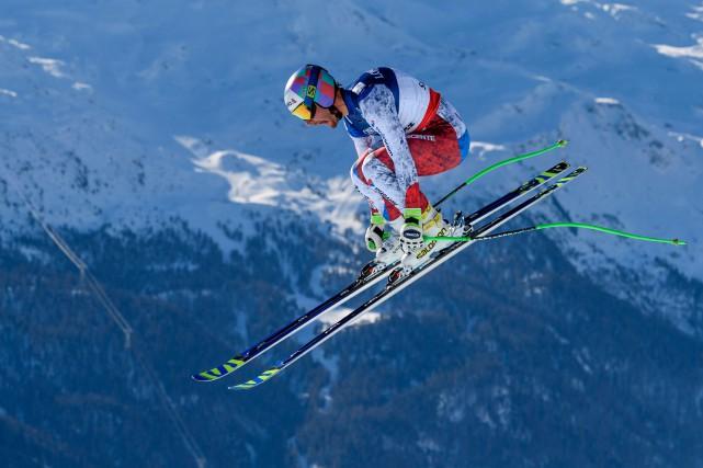 La première victoire en carrière de Luca Aerni... (Photo Fabrice Coffrini, AFP)