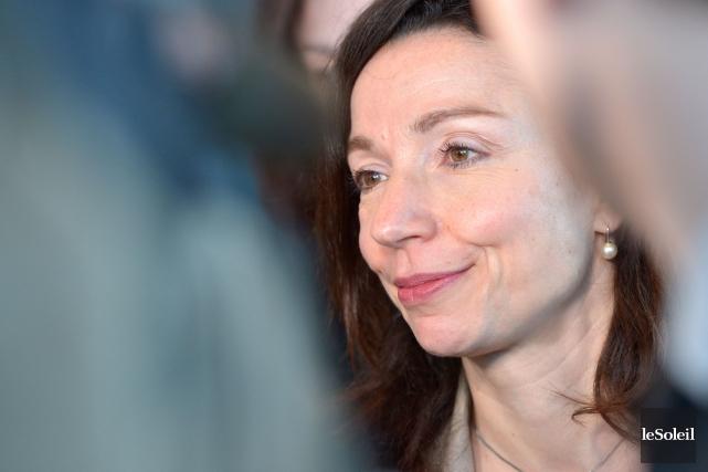 Martine Ouellet... (Le Soleil, Yan Doublet)