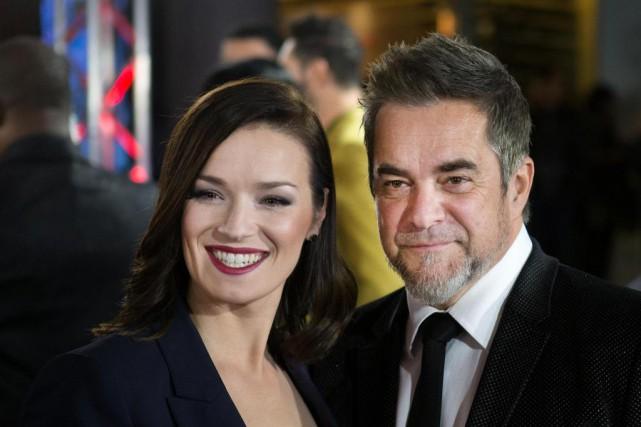 Andrée Watters et Sylvain Cossette se sont rencontrés... (Photo Robert Skinner, Archives La Presse)
