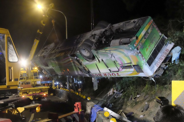 La cause de l'accident n'est pas connue, mais... (PHOTO SAM YEH, AFP)