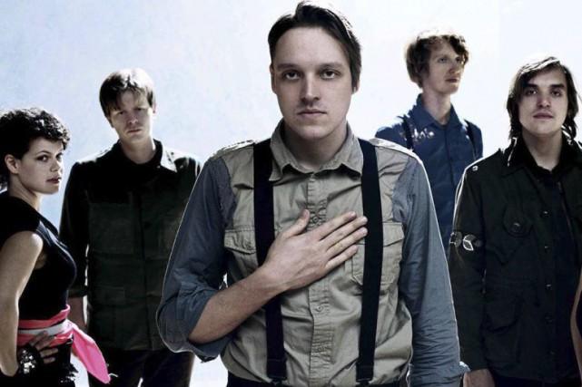 Le groupe Arcade Fire... (Photo tiree de leur compte Facebook)