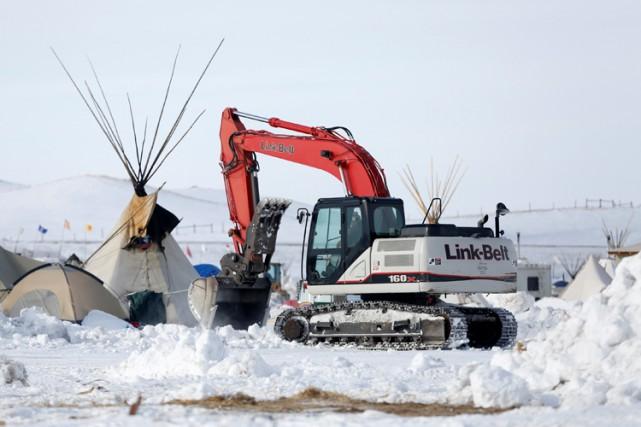 Les communautés sioux affirment que l'oléoduc mettrait en... (PHOTO REUTERS)