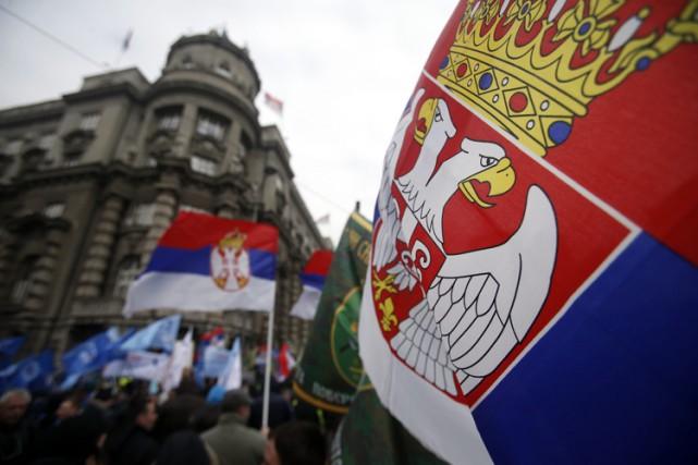 La Serbie reste attachée à sa relation particulièreavec... (PHOTO AP)