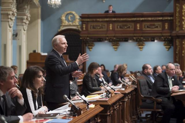 Le chef péquiste Jean-François Lisée se défend d'avoir... (La Presse canadienne, Jacques Boissinot)