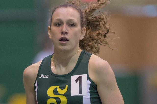 Maïté Bouchard, classée 6e au Canada, a déjà... (Photo fournie)