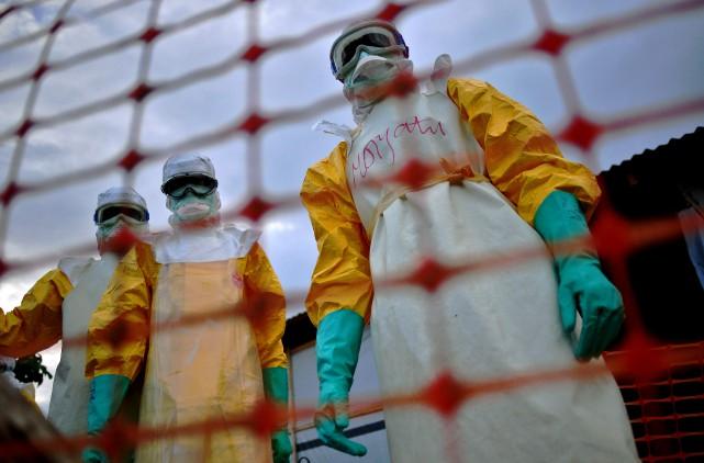 L'épidémie d'Ebola en 2014 a été d'une ampleur... (AFP, Carl de Souza)