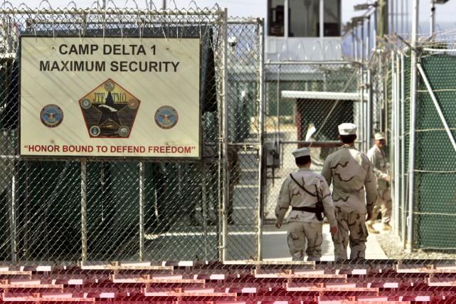 La prison militaire américaine de Guantanamo Bay, à... (Archives AP)