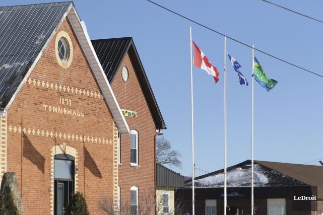 L'hôtel de ville de la municipalité de Pontiac... (PATRICK WOODBURY, Archives Le Droit)