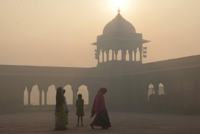 La pollution de l'air est désormais responsable chaque... (AFP)