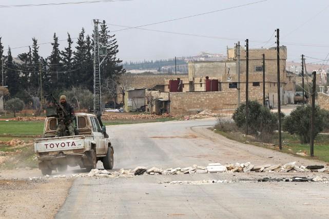Le premier ministre turc a affirmé mardi que la ville d'Al-Bab, l'un des fiefs... (PHOTO RAFAT AHMAD, Archives Agence France-Presse)