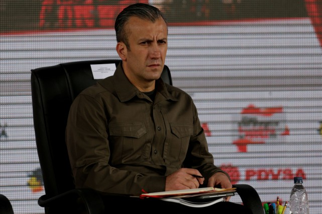 Tareck El Aissami... (Photo Marco Bello, archives REUTERS)