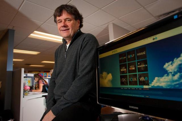 L'homme d'affaires Bernard Gendron dans les bureaux de... (PHOTO ANDRÉ PICHETTE, ARCHIVES LA PRESSE)