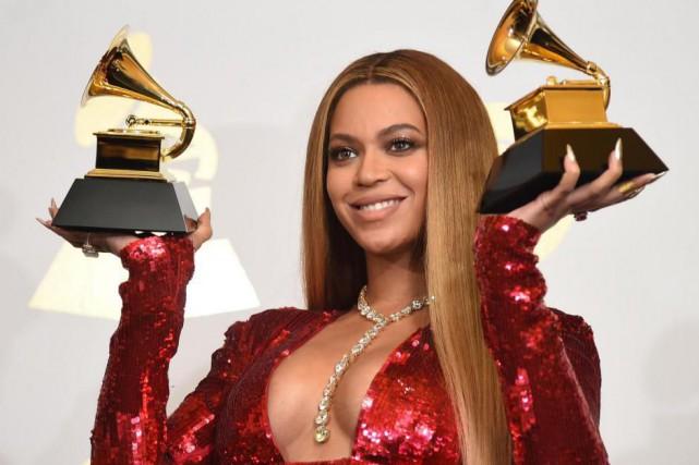 Beyoncé a remporté deux Grammy, mais pas celui... (PHOTO ROBYN BECK, AGENCE FRANCE-PRESSE)