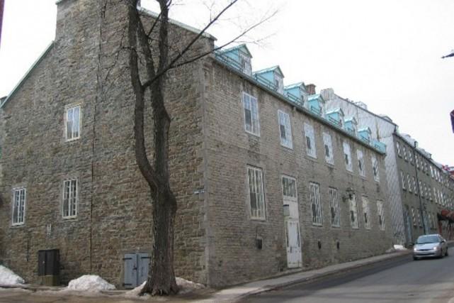 La Maison Péan, sur la rue Saint-Louis, où... (Université Laval)