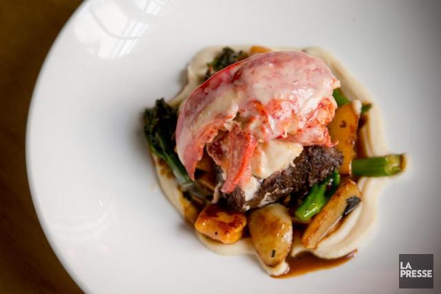 C'est le plat signature du restaurant Club Chasse et Pêche, vaisseau amiral du... (Photo David Boily, La Presse)