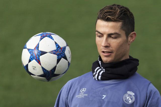 Cristiano Ronaldo... (Photo Daniel Ochoa de Olza, AP)