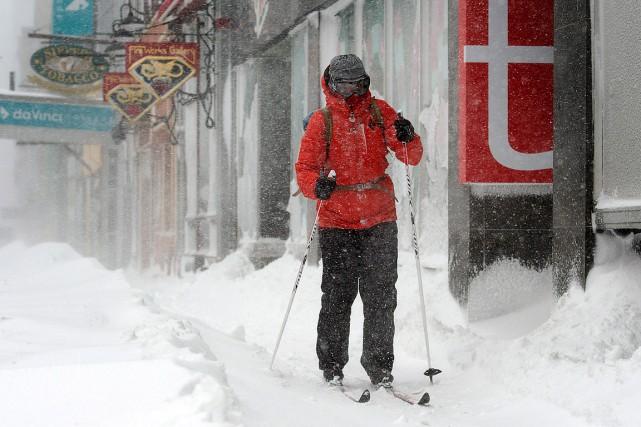 C'est en ski que cet homme a décidé... (Andrew Vaughan, PC)