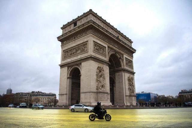 Le 8e arrondissement (où se trouve notamment l'Arc... (PHOTO MARTIN BUREAU, ARCHIVES AGENCE FRANCE-PRESSE)