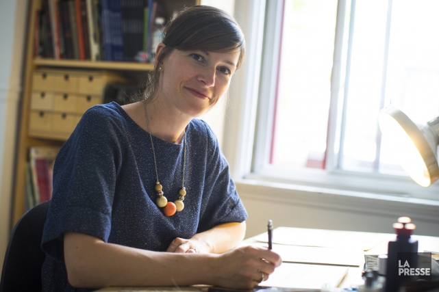 L'illustratrice Isabelle Arsenault... (PHOTO OLIVIER PONTBRIAND, ARCHIVES LA PRESSE)