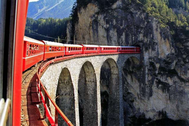 Depuis le début de l'année, la société de train Eurail permet à un plus grand... (Photo fournie par Eurail)