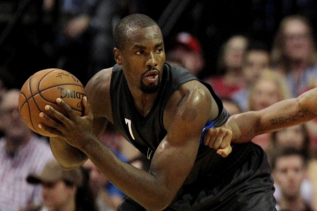 Serge Ibaka a présenté une moyenne de 15,1... (Photo Erik Williams, USA Today Sports)