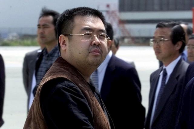 Kim Jong-Nam, le frère aîné de Kim Jong-Un,... (Archives AP)