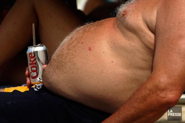 Le risque de diabète adulte et de maladies cardiovasculaires est plus important... (Bernard Brault, archives La Presse)