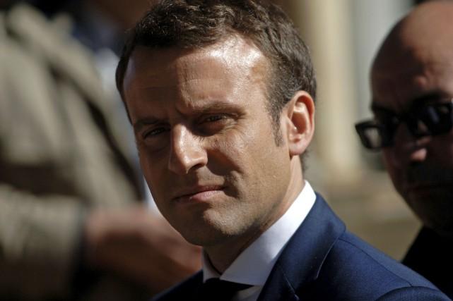 L'entourage d'Emmanuel Macron a accusé mardi la Russie... (AFP)