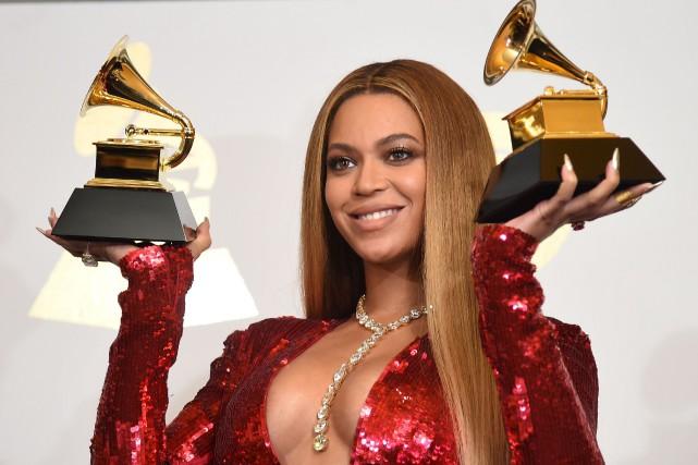 Avec ses 22 trophées en carrière, Beyoncé demeure... (Robyn Beck, Agence France-Presse)