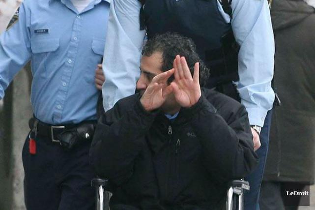 Khalid Gakmakge, accusé du meurtre non prémédité de... (Archives, Le Droit)