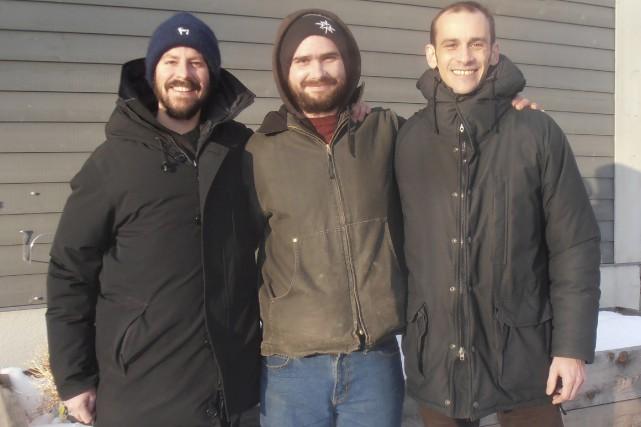 Trois des artisans de la radio web Canal... (fournie)