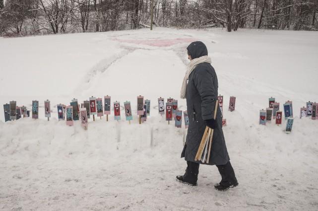 Pour souligner la Saint-Valentin, Ultra Nan a enjolivé... (Spectre Média, Frédéric Côté)