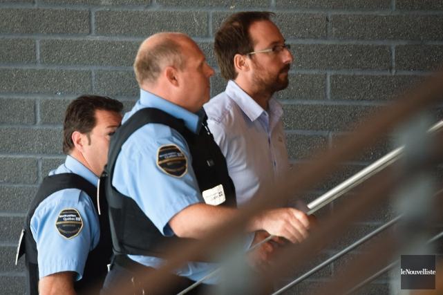 Jonathan Bettez a été arrêté le 30 août... (François Gervais, Le Nouvelliste)