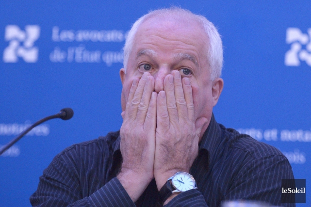 Le président du syndicat Les avocats et notaires... (Photothèque Le Soleil, Yan Doublet)