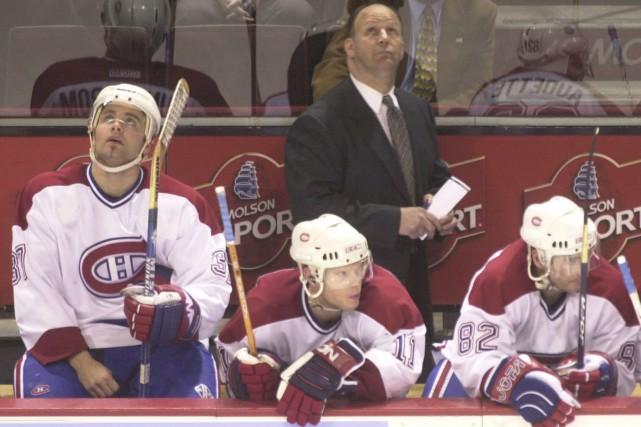 Claude Julien a dirigé le Canadien de 2002-2003... (Archives, La Presse)