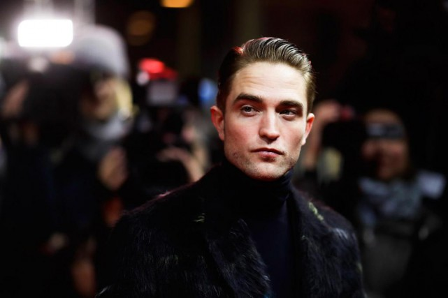 Robert Pattinson, était à Berlin pour présenter le... (Photo Markus Schreiber, Associated Press)