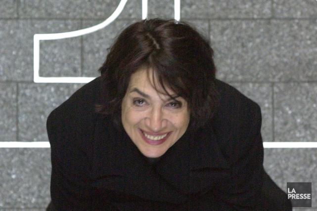 La cinéaste d'animation montréalaise Michèle Cournoyer fait partie des gagnants... (PHOTO BERNARD BRAULT, ARCHIVES LA PRESSE)
