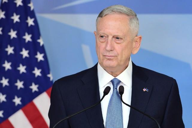 Le général Mattis s'est voulu rassurant à son... (PHOTO AFP)