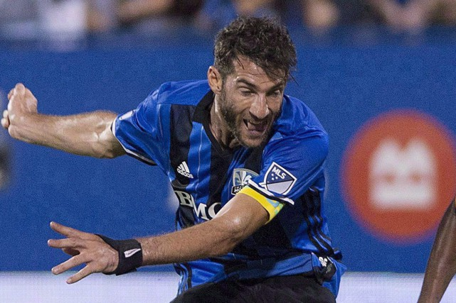 Ignacio Piatti a marqué l'unique but de l'Impact.... (Photo Graham Hughes, archives PC)