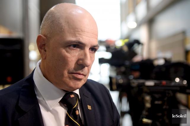 Le vice-recteur de l'Université Laval Éric Bauce... (Photothèque Le Soleil, Erick Labbé)