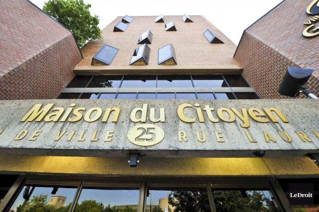 La Maison du Citoyen de Gatineau... (Martin Roy, archives Le Droit)