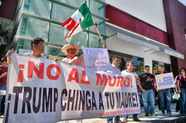 L'arrestation d'un Mexicain protégépar un décret est inédite... (Photo FRANCISCO ROBLES, AFP)