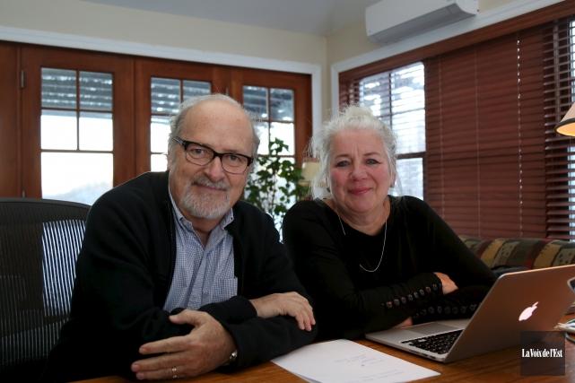 Anne Boyer et Michel d'Astous ont produit la... (Julie Catudal, archives La Voix de l'Est)