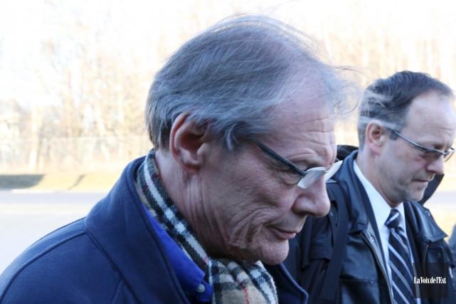 M. Marchionni a plaidé coupable à neuf accusations... (archives La Voix de l'Est)